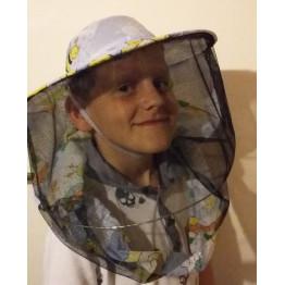 Gyermek méhészkalap